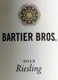 Bartier Bros. Rieslingtext