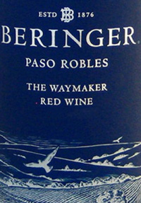 Beringer Paso Robles The Waymaker Redtext