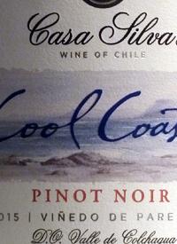 Casa Silva Cool Coast Pinot Noir Vinedo de Paredonestext
