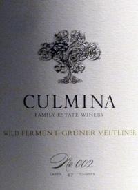 Culmina Family Estate Wild Ferment Gruner Veltliner No. 002text