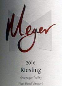 Meyer Family Fleet Road Vineyard Rieslingtext