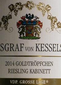 Reichsgraf von Kesselstatt Goldtropfchen Riesling Kabinetttext
