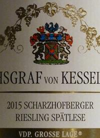 Reichsgraf von Kesselstatt Scharzhofberger Riesling Spatlesetext