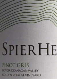 Spierhead Pinot Gris Golden Retreat Vineyard