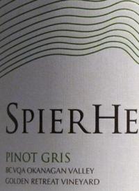 Spierhead Pinot Gris Golden Retreat Vineyardtext