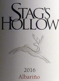 Stag's Hollow Albarino Shuttleworth Creek Vineyardtext