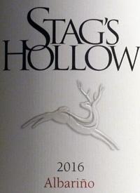 Stag's Hollow Albarino Shuttleworth Creek Vineyardtext