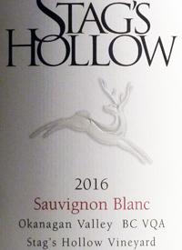 Stag's Hollow Sauvignon Blanc Vineyard
