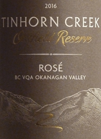 Tinhorn Creek Oldfield Reserve Rosétext