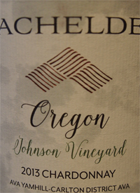 Bachelder Johnson Chardonnay Oregon Single Vineyardtext