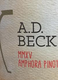 A.D. Beckham MMXV Amphora Pinot Gristext