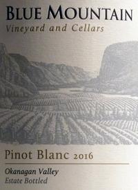 Blue Mountain Pinot Blanctext