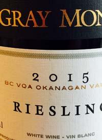 Gray Monk Rieslingtext