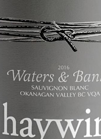 Haywire Waters and Banks Sauvignon Blanctext