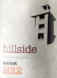 Hillside Merlot Dickinson Vineyardtext