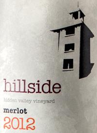 Hillside Merlot Hidden Valley Vineyardtext
