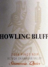 Howling Bluff Pinot Noir Summa Quiestext