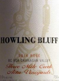 Howling Bluff Pinot Noir Rosé Three Mile Creek - Acta Vineyardtext