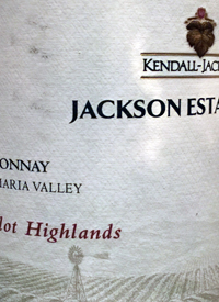 Jackson Estate Camelot Highlands Chardonnaytext