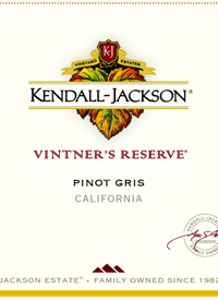 Kendall-Jackson Pinot Gris Vintner's Reserve