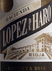 Hacienda Lopez de Haro Rioja Reservatext