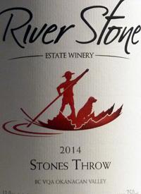 River Stone Stones Throwtext