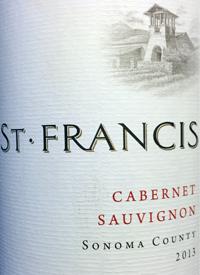 St. Francis Cabernet Sauvignontext