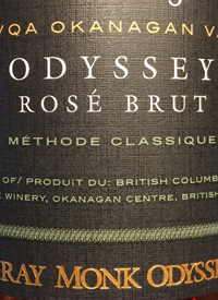 Gray Monk Odyssey Rose Brut Méthode Classiquetext