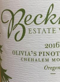 Beckham Estate Vineyard Olivia's Pinot Noir Rosétext