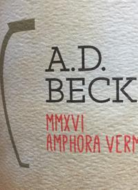 A.D. Beckham MMXVI Amphora Vermentinotext