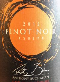 Anthony Buchanan Pinot Noir Ashlyntext