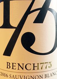 Bench 1775 Sauvignon Blanctext