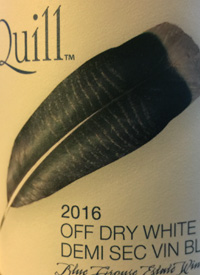 Blue Grouse Quill Off Dry Whitetext