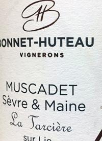 Bonnet-Huteau Vignerons Muscadet Sèvre et Maine La Tarcière sur Lietext