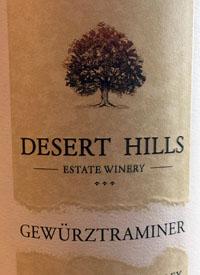 Desert Hills Gewurztraminertext