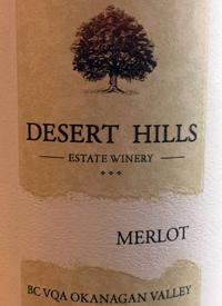 Desert Hills Merlottext