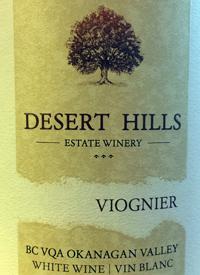 Desert Hills Viogniertext
