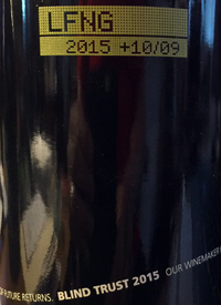 Laughing Stock Vineyards Blind Trust Red +10/09text