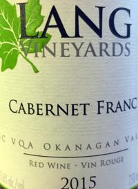 Lang Vineyards Cabernet Franctext