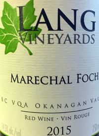 Lang Vineyards Maréchal Fochtext