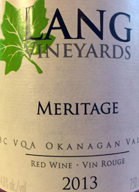 Lang Vineyards Meritagetext