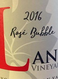 Lang Vineyards Rose Bubbletext