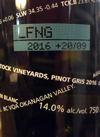 Laughing Stock Vineyards Pinot Gris +20/09text