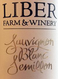 Liber Farm and Winery Sauvignon Blanc Semillontext