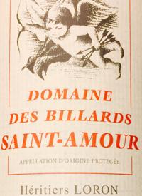 Domaine des Billards Saint-Amourtext