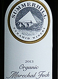 Summerhill Pyramid Winery Organic Marechal Fochtext