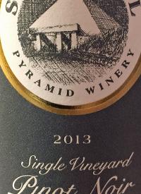 Summerhill Pyramid Winery Single Vineyard Pinot Noirtext