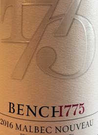 Bench 1775 Malbec Nouveautext