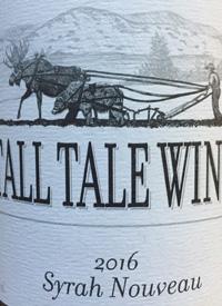 Tall Tale Wines Syrah Nouveautext