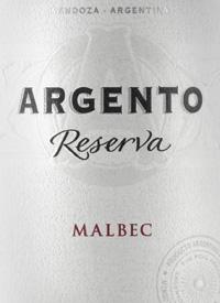 Argento Reserva Malbec Organictext